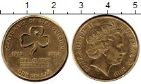 Изображение Монеты Австралия 1 доллар 2010 Латунь XF