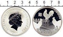 Изображение Монеты Новая Зеландия Ниуэ 2 доллара 2017 Серебро Proof-