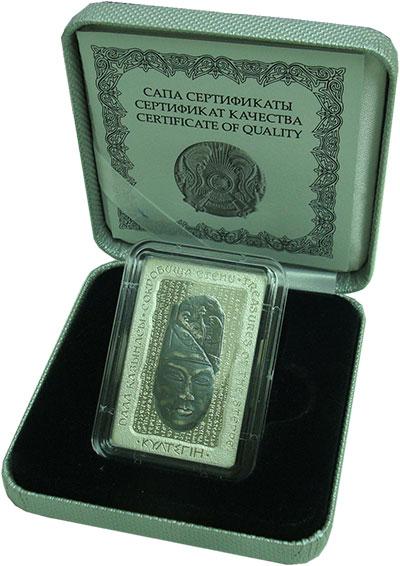 Изображение Подарочные монеты Казахстан 500 тенге 2016 Серебро Proof Монета из серии ``Со