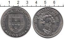 Изображение Монеты Португалия 100 эскудо 1984 Медно-никель UNC-