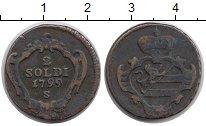 Изображение Монеты Италия Гориция 2 сольди 1799 Медь VF