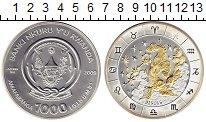 Монета Руанда 1000 франков Серебро 2009 UNC фото