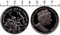 Изображение Монеты Великобритания Британско - Индийские океанские территории 2 фунта 2016 Медно-никель UNC