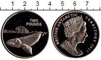 Изображение Монеты Антарктика 2 фунта 2017 Медно-никель UNC