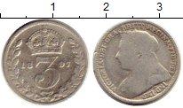 Изображение Монеты Великобритания 3 пенса 1897 Серебро VF