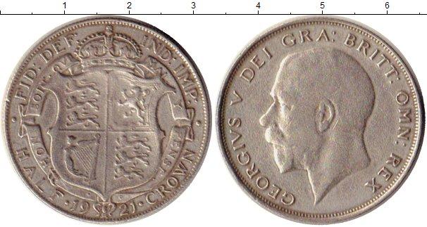Картинка Монеты Великобритания 1/2 кроны Серебро 1921