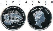 Монета Токелау 5 тала Серебро 2003 Proof фото