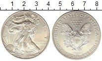 Изображение Монеты США 1 доллар 2014 Серебро UNC-