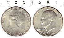 Изображение Монеты США 1 доллар 1976 Серебро UNC-