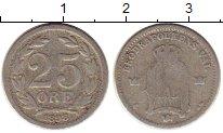 Изображение Монеты Швеция 25 эре 1898 Серебро VF