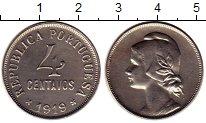 Изображение Монеты Португалия 4 сентаво 1919 Медно-никель UNC-