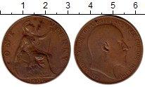 Изображение Монеты Великобритания 1 пенни 1906 Бронза VF