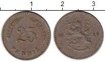 Изображение Монеты Финляндия 25 пенни 1928 Медно-никель VF
