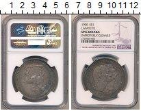 Изображение Монеты США 1 доллар 1900 Серебро UNC