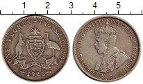 Изображение Монеты Австралия 1 флорин 1925 Серебро XF