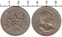 Изображение Монеты Гана 50 песев 1965 Медно-никель XF