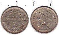 Изображение Монеты Чили 5 сентаво 1921 Медно-никель XF