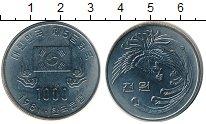Изображение Монеты Южная Корея 1000 вон 1981 Медно-никель UNC-