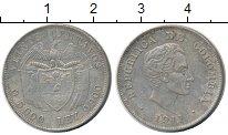 Изображение Монеты Колумбия 20 сентаво 1911 Серебро XF