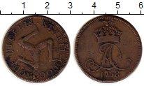 Изображение Монеты Великобритания Остров Мэн 1 пенни 1758 Медь VF