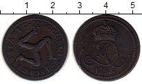 Изображение Монеты Великобритания Остров Мэн 1 пенни 1758 Медь XF