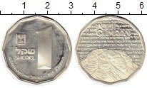 Изображение Монеты Израиль 1 шекель 1982 Медно-никель UNC-