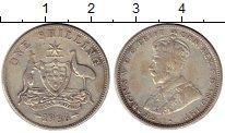 Изображение Монеты Австралия 1 шиллинг 1936 Серебро VF