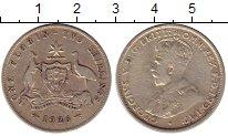 Изображение Монеты Австралия 1 флорин 1926 Серебро VF