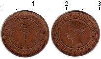 Изображение Монеты Шри-Ланка Цейлон 1/4 цента 1890 Медь XF