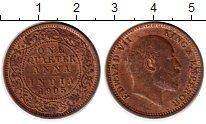 Изображение Монеты Индия 1/4 анны 1905 Медь XF