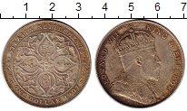 Изображение Монеты Великобритания Стрейтс-Сеттльмент 1 доллар 1907 Серебро XF