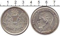 Изображение Монеты Гватемала 1 песо 1864 Серебро XF