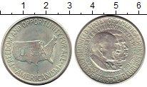 Изображение Монеты США 1/2 доллара 1954 Серебро UNC-