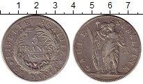 Изображение Монеты Италия Субальпина 5 франков 1801 Серебро XF