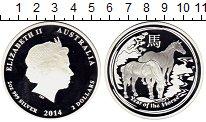 Изображение Монеты Австралия 2 доллара 2014 Серебро Proof