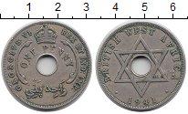 Изображение Монеты Великобритания Западная Африка 1 пенни 1941 Медно-никель XF-