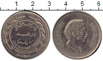 Изображение Монеты Иордания 100 филс 1989 Медно-никель XF