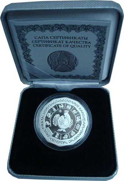 Изображение Подарочные монеты Казахстан 500 тенге 2016 Серебро Proof `Серия ``Восточный к