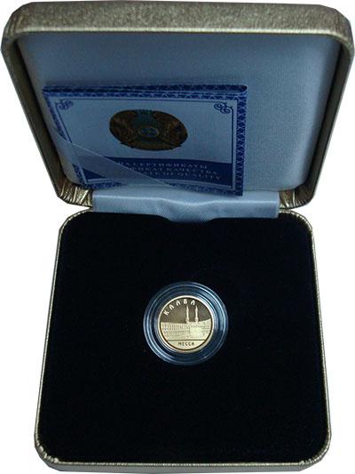 Изображение Подарочные монеты Казахстан 500 тенге 2010 Золото Proof `Серия ``Знаменитые