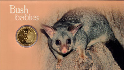 Изображение Подарочные монеты Австралия 1 доллар 2013 Латунь UNC `Монета номиналом 1