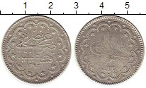 Изображение Монеты Турция 5 куруш 1907 Серебро XF-