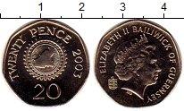 Изображение Монеты Великобритания Гернси 20 пенсов 2003 Медно-никель UNC