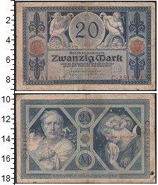 Изображение Банкноты Германия 20 марок 1915  F