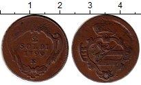 Изображение Монеты Италия Гориция 2 сольди 1799 Медь XF