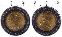 Изображение Монеты Ватикан 500 лир 1982 Биметалл UNC-