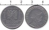 Изображение Монеты Албания 0,2 лек 1940 Медно-никель XF-