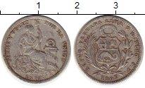 Изображение Монеты Перу 1 динер 1905 Серебро VF