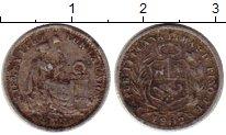 Изображение Монеты Перу 1/2 динеро 1902 Серебро VF