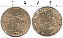 Изображение Монеты Сан-Марино 200 лир 1989 Латунь UNC