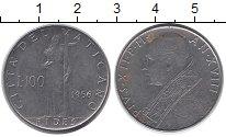 Изображение Монеты Ватикан 100 лир 1956 Медно-никель UNC